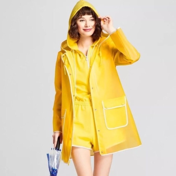 Hunter for Target Jackets & Blazers - Hunter for Target Hooded Trench Rain Jacket